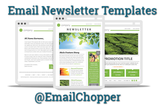 why investing in email newsletter templates is a better choice email chopper. Black Bedroom Furniture Sets. Home Design Ideas