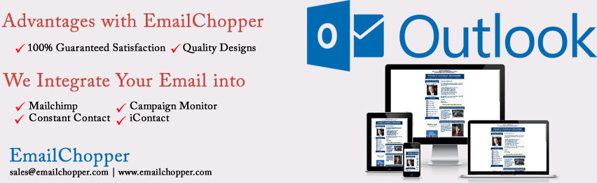 Responsive Email Templates For Outlook Email Chopper - Outlook html email template