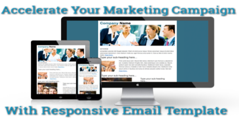 Accelerate Your Marketing Campaign With Responsive Email Template